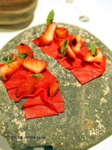 Strawberries, Azurmendi, Vizcaya