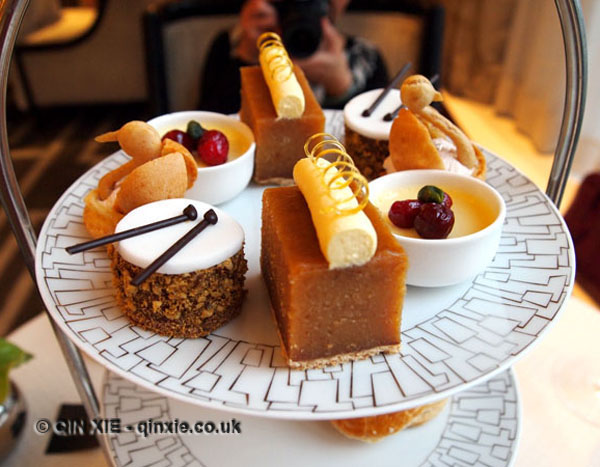 Pastry platter, Christmas Afternoon Tea at Wellington Lounge