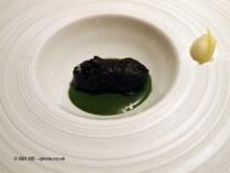 Mackerel and black cabbage, Enoteca Pinchiorri, Florence