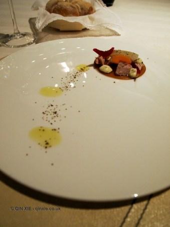 Tuna flavoured veal, Enoteca Pinchiorri, Florence