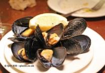 Clóchinas Valencian mussels, Casa Montaña, Valencia