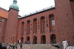 Town hall, Bocuse d'Or gala dinner, Stockholm