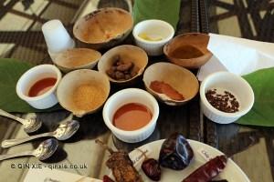 Beauty workshop ingredients, Grenada Chocolate Festival
