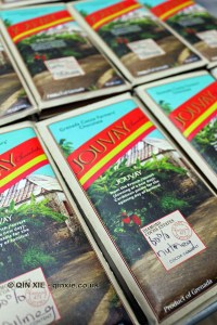 Jouvay chocolate bar, Diamond Chocolate Factory