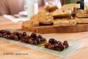 Olives and focaccia, Niasca Portofino