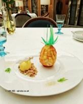 Pineapple at Celeste Restaurant, The Lanesborough, Knightsbridge