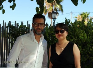 Qin Xie and Quique Dacosta, Denia