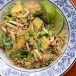 Honey Lime Quinoa with Avocados :: Inquiring Chef