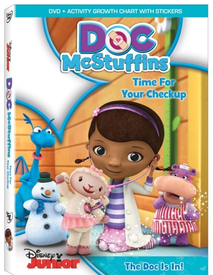 Doc-McStuffins-Time-For-Checkup DVD
