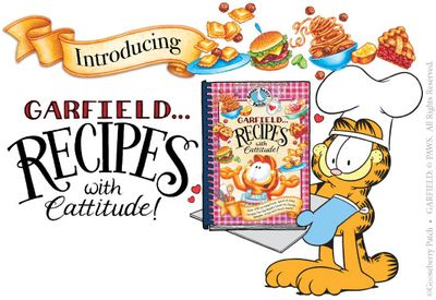 Garfield Recipes with Cattitude