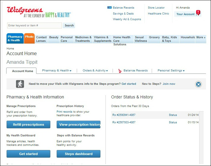 Notifications from Walgreens #shop