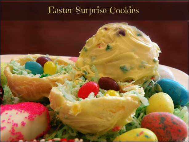 Easter Surprise Cookies #BunnyHop