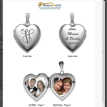 Review of Build Your Own Locket With PicturesOnGold.com + Giveaway {US}