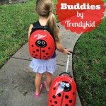Adorable Travel Buddies Luggage Sets From Trendykid