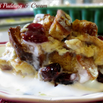 Bread Pudding & Cream w/ Healthfull® Steel Cut Oats & Honey Bread