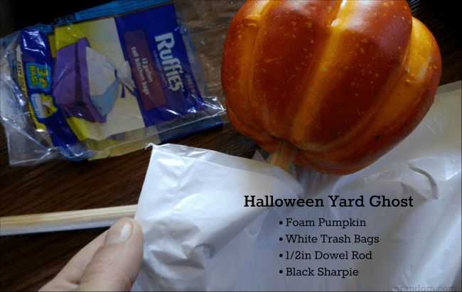 List of Yard Ghost supplies