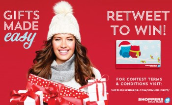 GIFTS MADE EASY Shoppers Drug Mart 2014 Christmas