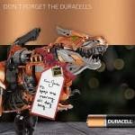 Transformers: Age of Extinction Chomp and Stomp Grimlock Duracell Batteries Power Smiles