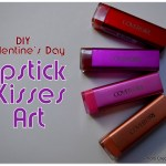 Covergirl colorlicious lipstick, DIY Valentine's Day last minute gift idea, Homemade Valentines Craft, P&Gmom, PGmom, Covergirl Lipstick Craft.