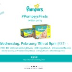 Pampers First Twitter Party