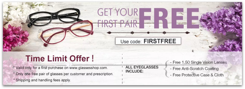 Free glasses, GlassesShop.com,