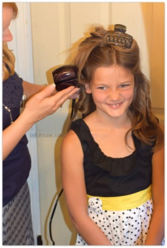 url Secret® from InfinitiPRO by Conair® Review. Stress free curling for little girl