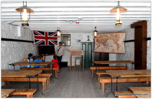 Playing school at Fort Henry Kingston Ontario, KOA Kingston Camping,  Canada Lifestyle Blogger