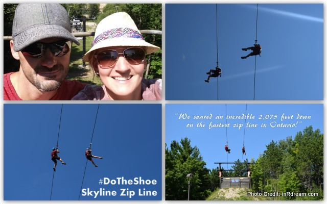 Horseshoe Resort Ontario Fastest zip line