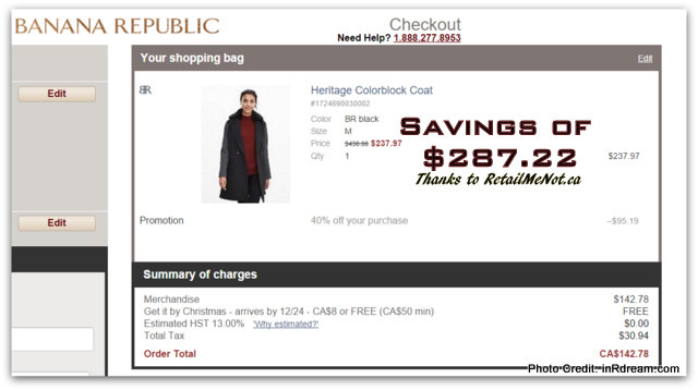 Canadian savings and promo codes using RetailMeNot.ca.