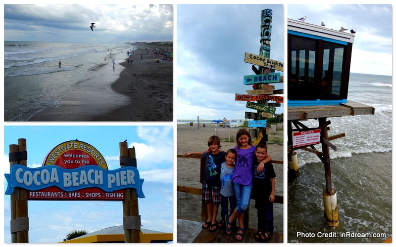Family Travel on Westgate Cocoa Beach Pier