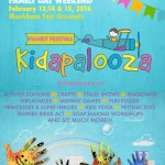 Kidapalooza is an indoor Family Festival taking place at the Markham Fair Grounds on Family Day 2016 Weekend. Things to do on Family Day 2016 in Toronto