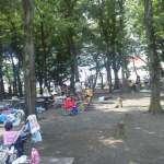 BBQ Area of Isanuma Park