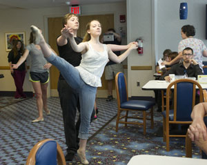 A flash mob with cultural flair hits Akron campus