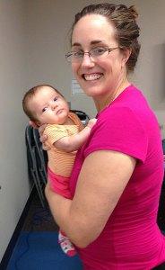 Jennifer Buckholdt is a proud mother to 3-month-old Sophia.
