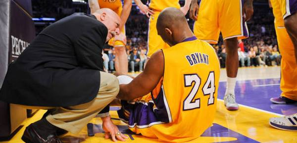 Kobe Bryant's return to the game too soon may have lead to the injury in his other knee.