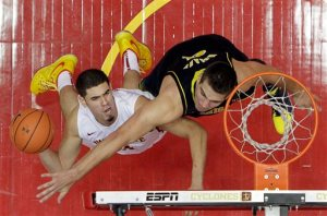 Iowa State's Georges Niang's broken foot will take him out for the remainder of the season.