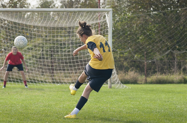Female athletes are up to 8 times more likely to tear their ACL than boys.