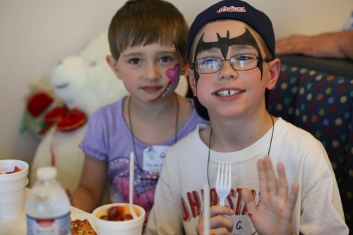 Take Me Out to the Ballgame event for cerebral palsy patients