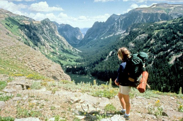 Backpacking in the Grand Teton National Park, Wyoming