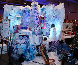 Holiday Tree Festival Special Raffle: A Jo-Ann Frozen Winter Wonderland