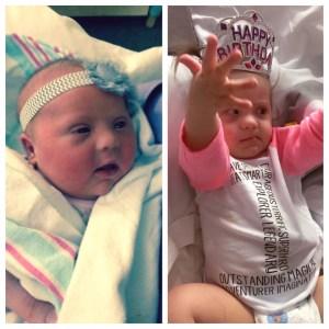 Harper celebrates her first birthday