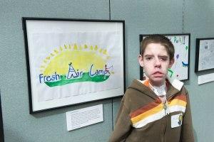 Drawing inspiration: Teen uses art to express passions
