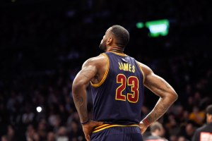 What does LeBron's recent anti-inflammatory injection mean?