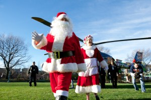 The Flight Before Christmas delights little and big patients alike