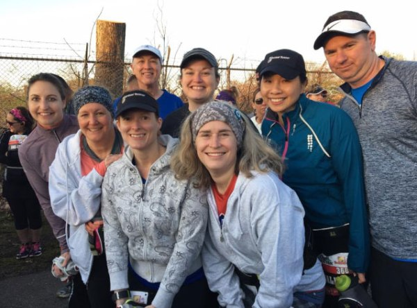 Runner Counts On Group Runs and Encouragement to Achieve Goals
