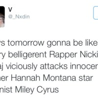 Nicki VS Miley: Sooooooo Not Staged As I Thought?