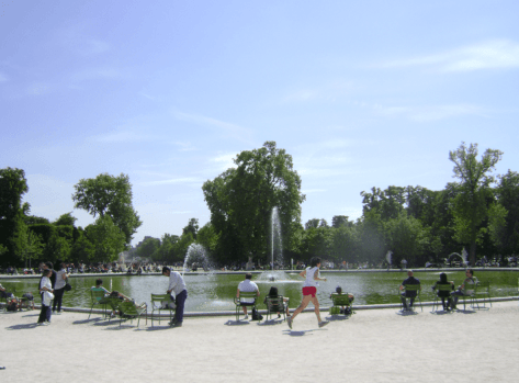 Jardin Tuileries fountain - Maynefoto