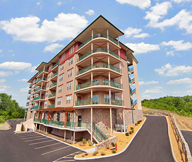 pinnacle crest condo rentals in Pigeon Forge TN