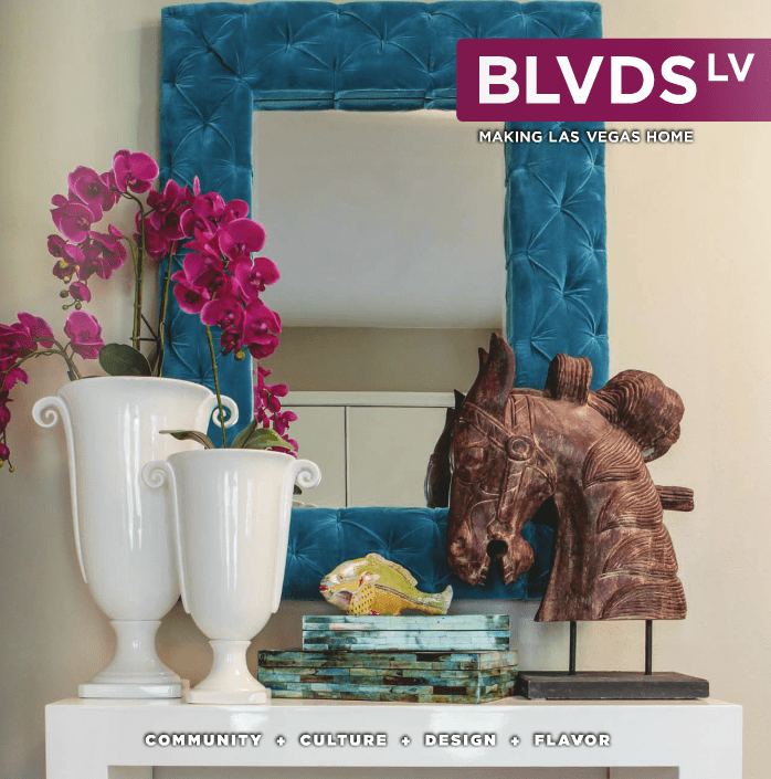 Our Interior Design on the cover of BLVDS LV.