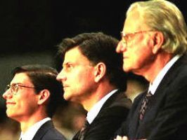 Will, Franklin, and Billy Graham